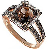 Chocolate Diamond Rings Champagne Diamond Jewelry